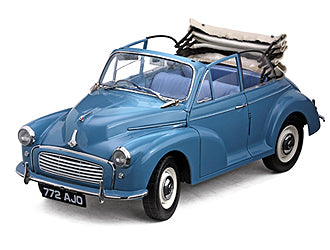 Morris Minor 1000 Convertible (1960) Diecast Model Car - Clipper Blue (Limited Edition)