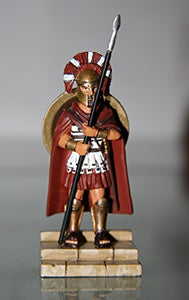 Frontline-Altaya-De Agostini - Ancient Warriors - Spartan Hoplite - hand painted die-cast metal figure - approx. 6,5 cm