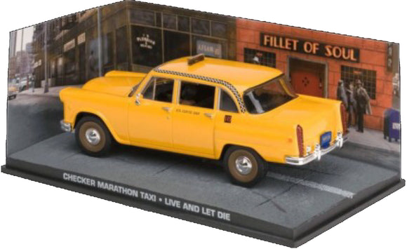 James Bond Collection - Checker Marathon Taxi from James Bond- Live and Let Die
