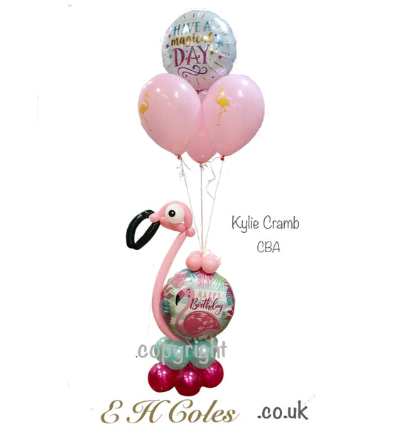 Designer Fantastic Flamingo Fun Bouquet