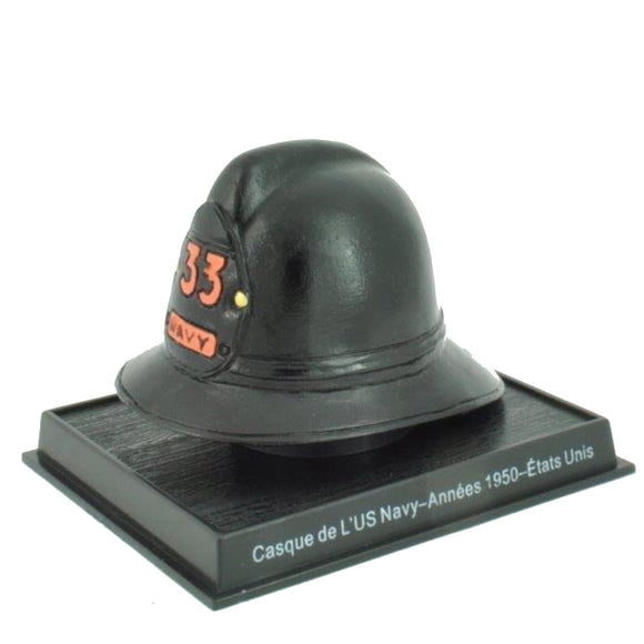 Del Prado Collection -  1950 US Navy USA Fire Helmet Scale Model - Die Cast