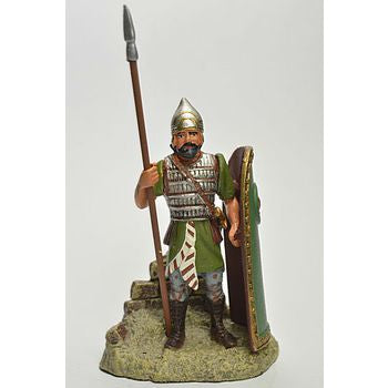 Frontline- Ancient Warriors - Assyrian Infantryman 7th Century BC - hand painted die-cast metal figure - approx. 6,5 cm