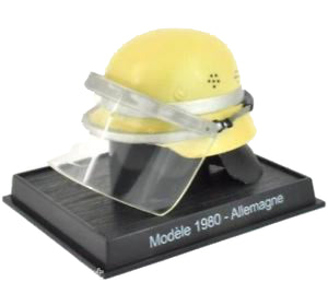 Del Prado Collection - 1980 Germany Allemagne Fire Helmet - Die Cast
