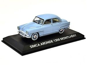 Edition ATLAS Collection SIMCA ARONDE 1300 Montlhéry (Blue) Die Cast Model Car Scale 1:43
