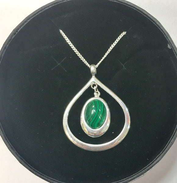 Elouise Malachite Necklace
