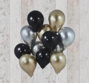 Let's Flamingle DIY - Pack of 12 Glamorous Balloons