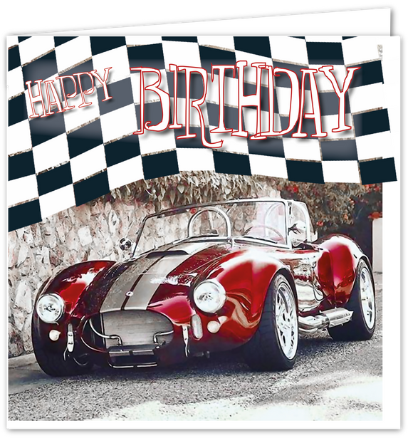 Happy Birthday - Shelby Cobra