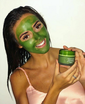 Best Green Tea Matcha Mud Mask Out There!