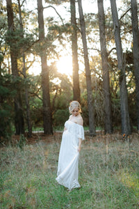 Fillyboo 'Wonder Years' maternity gown in ivory