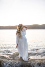 Fillyboo 'I believe in unicorns' maternity gown in ivory