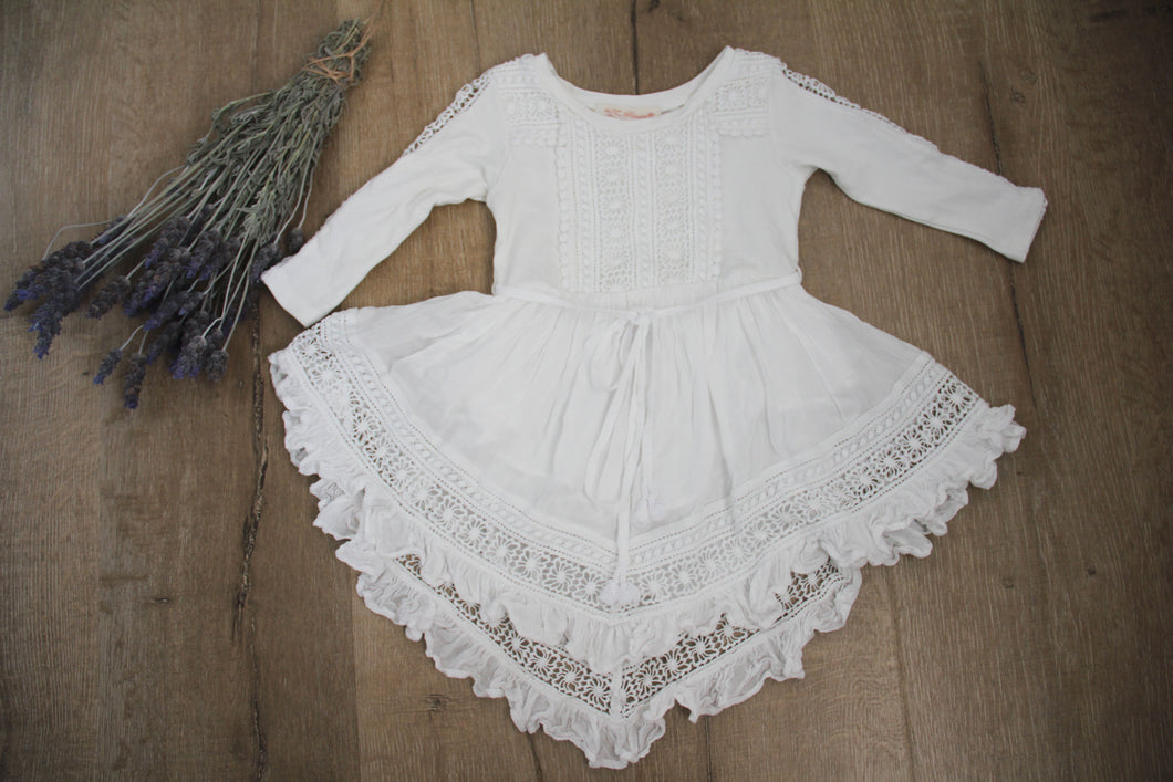 Tea Princess Ivory Baby Harmony dress