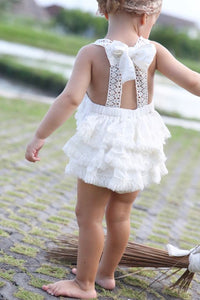 Tea Princess 'Anchor' Boho Baby Romper