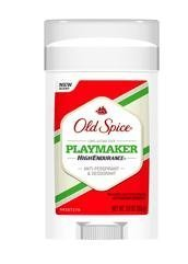Old Spice High Endurance Anti-perspirant & Deodorant,Playmaker- 3 oz
