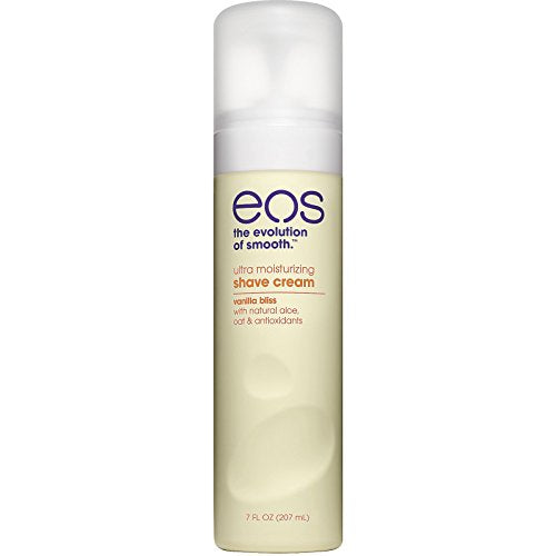 Eos Ultra Moisturizing Shave Cream, Vanilla Bliss - 7 oz