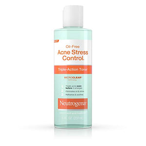 Neutrogena Oil-Free Acne Stress Control Triple-Action Toner - 8 oz