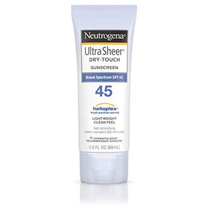 Neutrogena Ultra Sheer DryTouch Sunscreen, SPF 45 - 3 oz
