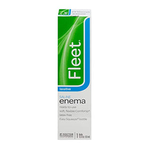 Fleet Adult Enema, Ready To Use for constipation - 133 ml