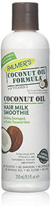 Palmers pure coconut oil with vitamin E and replenishing formula hair milk - 8.5 oz