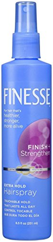 Finesse Self Adjusting Hair Spray, Extra hold - 8.5 oz