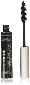 Suncoat Sugar Based Natural Mascara, Black Vegan - 0.33 Oz