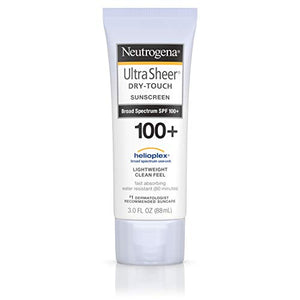 Neutrogena Ultra Sheer Dry Touch Sunblock Lotion, SPF 100 - 3 OZ
