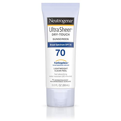 Neutrogena Ultra Sheer Sunblock, SPF 70 - 3 oz