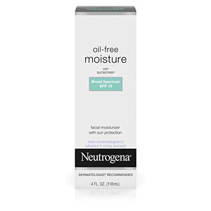 Neutrogena Oil - Free Facial Moisturizer with UVA  And UVB Sun Protection - 4 OZ