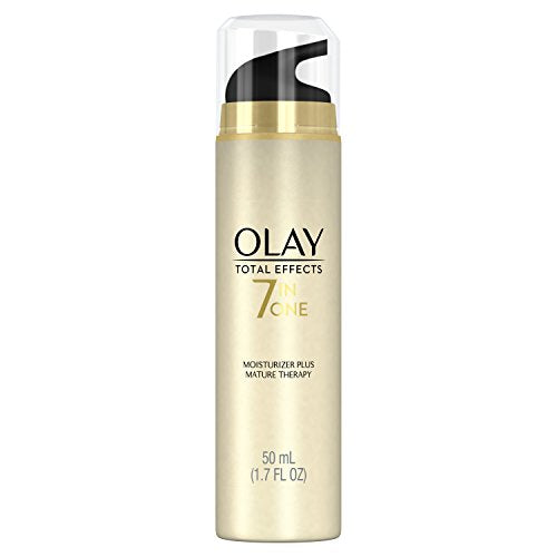 Olay Total Effects Anti Aging Facial Moisturizer Mature Skin Therapy - 1.7 oz