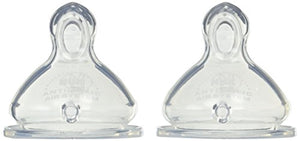 Gerber Nuk Orthodontic Nipples, Medium Flow, Size: 1 - 2 Ct