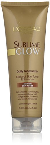 LOreal sublime glow daily moisturizer plus natural skin tone enhancer - 8 oz