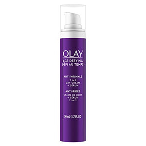 Olay Age Defying 2-In-1 Anti-Wrinkle Day Cream + Serum - 1.7 oz
