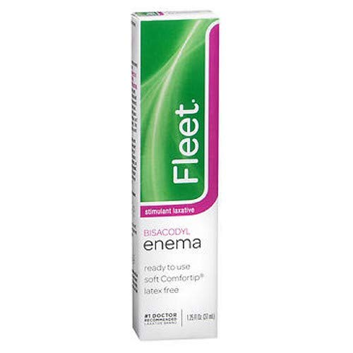 Fleet Bisacodyl Enema a Stimulant Pugative, Ready To Use - 1.25 OZ