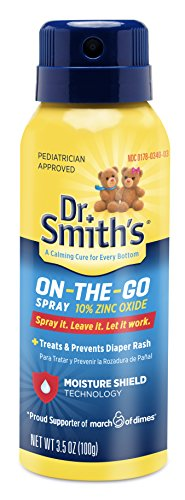Dr. Smiths Zinc Oxide 10% Diaper Rash Spray - 3.5 oz.