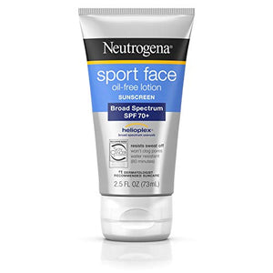 Neutrogena Ultimate Sport Face Sunblock Lotion, SPF 70 - 2.5 OZ