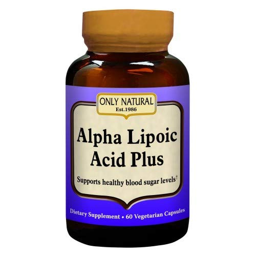 Only Natural - Alpha Lipoic Acid 200 mg Plus - 60 Capsules