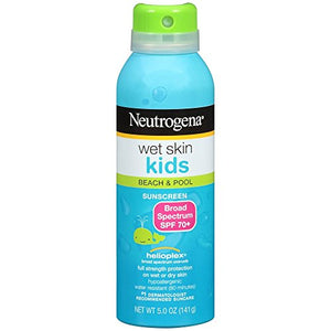 Neutrogena Wet Skin Sunscreen Kids, Broad Spectrun SPF 70+ - 5 oz