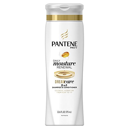 Pantene Pro-V 2 in 1 Shampoo & Conditioner, Daily Moisture Renewal - 12.6 oz