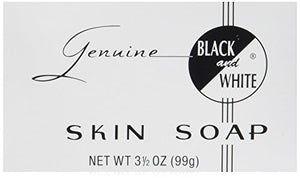 Genuine Black and White Skin Soap - 3.5 oz