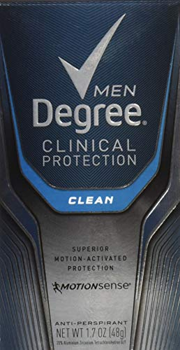 Degree Men Clinical + Antiperspirant And Deodorant, Clean - 1.7 oz