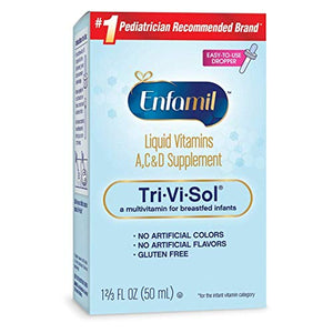 Enfamil Tri-Vi-Sol Vitamins A, C & D Supplement Drops - 50 ml