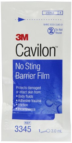 3M Cavilon no sting barrier film - 25 ea