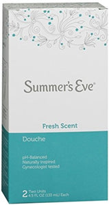 Summer's Eve Douche, Fresh Scent - 2 ea.