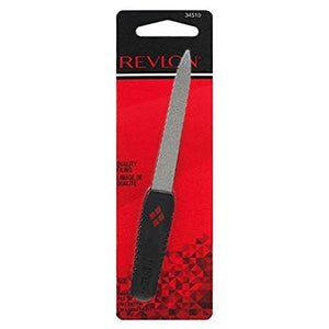 Revlon Compact Emery File with Soft Touch Handle - 1 ea