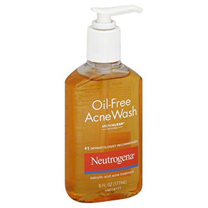 Neutrogena Acne Wash, Oil-Free - 6 oz