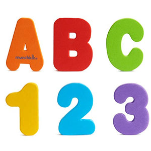 Munchkin Bath Letters and Numbers for 3+ years - 36 ea