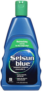 Selsun Blue Medicated Moisturizing Dandruff Shampoo - 11 Oz.