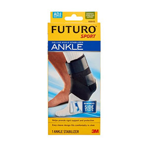 Futuro ankle sport brace with adjustable stabilizer, #46645 - 1 ea