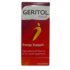 Geritol With Ferrex Tonic, High potency Vitamin and Iron Supplement - 12 oz