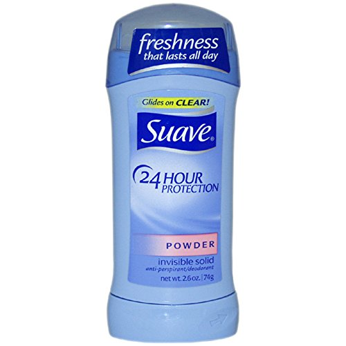 Suave Invisible Solid Anti-Perspirant & Deodorant, Powder - 2.6 oz