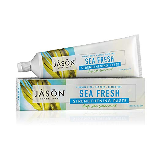 Jason Natural Products - Sea Fresh All Natural Sea-Sourced Toothpaste Deep Sea Spearmint - 6 oz.